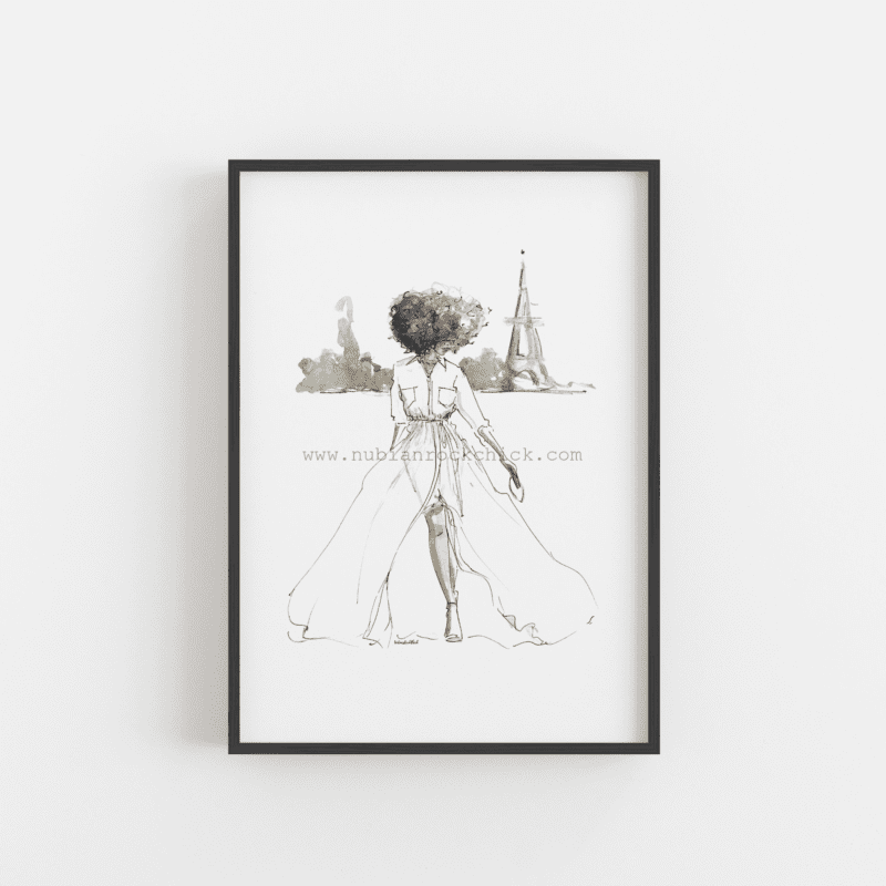 paris dreams framed nubiarockchick