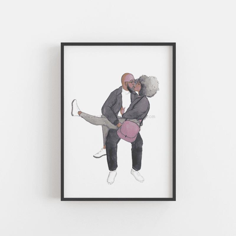 Soul mates framed nubianrockchick