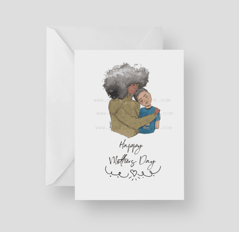 happy mothers day boy card