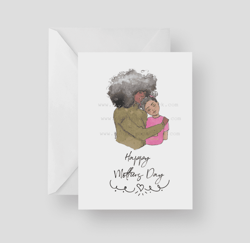 happy mothers day girl card