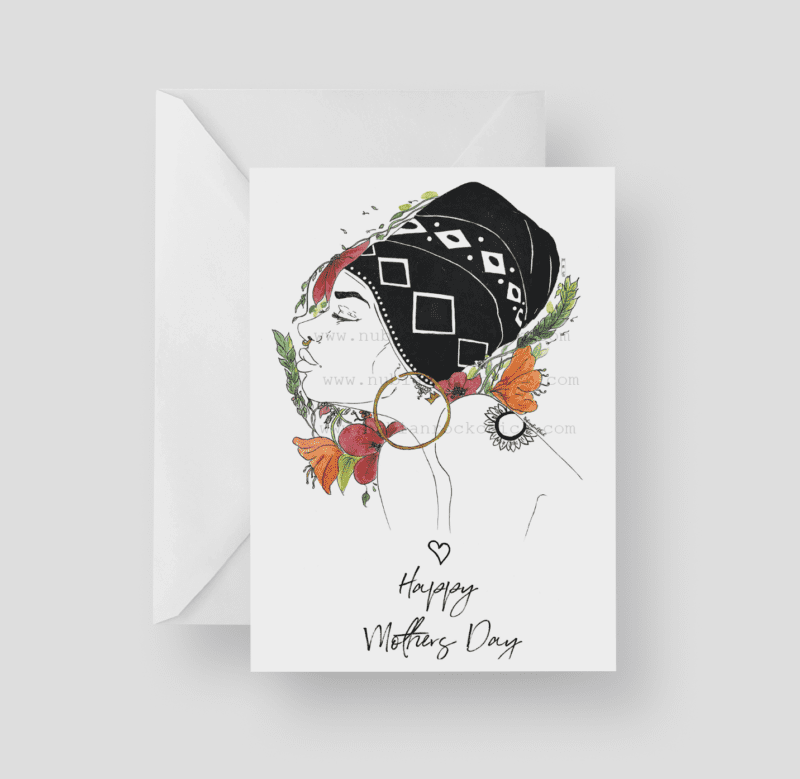 wrap queen mothers day card