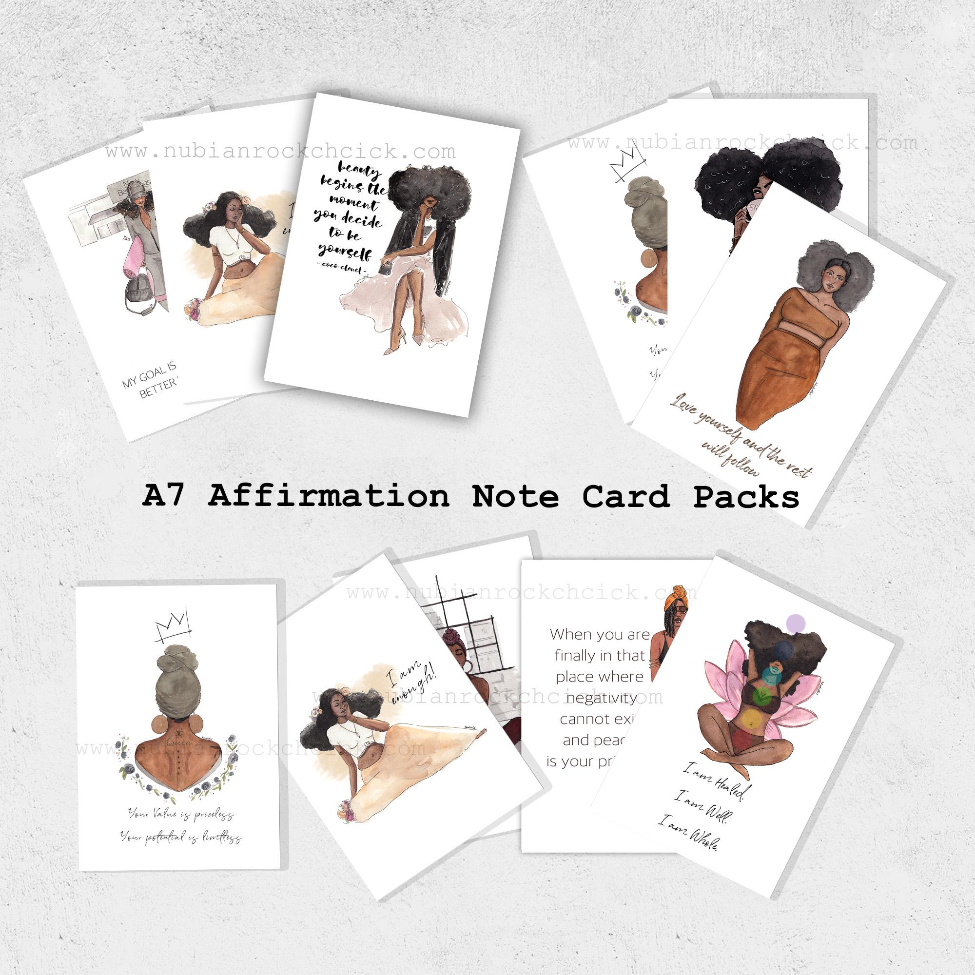 notecard mock
